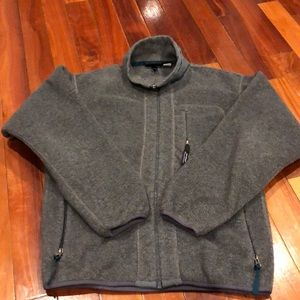 ⭐️Patagonia Synchilla Gray Fleece Jacket Small USA